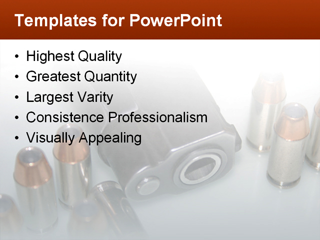 PowerPoint Template - defense, security, strategy - Print Slide