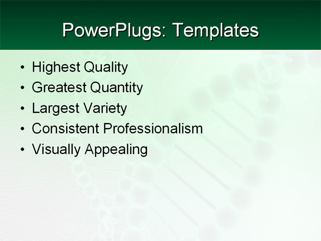 PowerPoint Template - science, medical, education - Print Slide