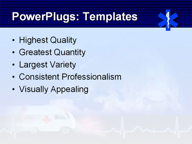 healthcare concept powerpoint template background of 911 ambulance analysis healthcare02 co 10