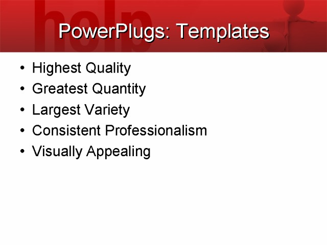 PowerPoint Template - business, people, communication - Print Slide