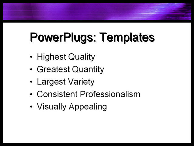 PowerPoint Template - purple, satin, silky - Print Slide