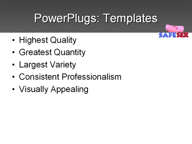 PowerPoint Template - services, business, marketing - Print Slide