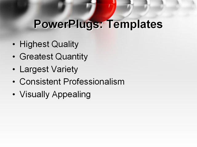 PowerPoint Template - ?business, abstract, art - Print Slide